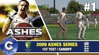 Let's Play Ashes Cricket 2009 | Ashes Series #1 | REVISITING A CLASSIC