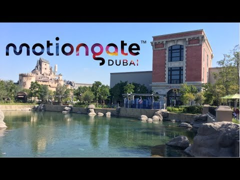 Motiongate Dubai & Riverland Vlog January 2018