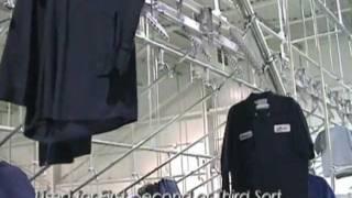 www.srsconveyors.com  Garment Sorting Conveyors