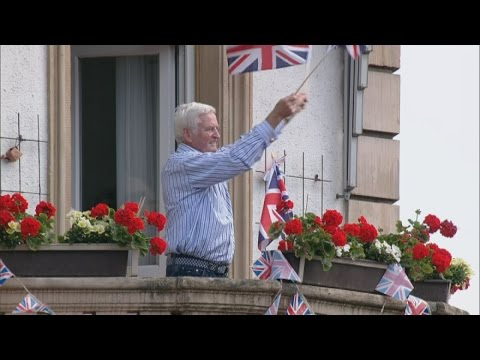 The Queen continues State visit to Germany in Frankfurt