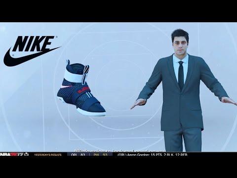 NBA 2k17 MyCAREER - Signature Shoe Deal! Jordan Nike Under Armour or Adidas? Ep. 15