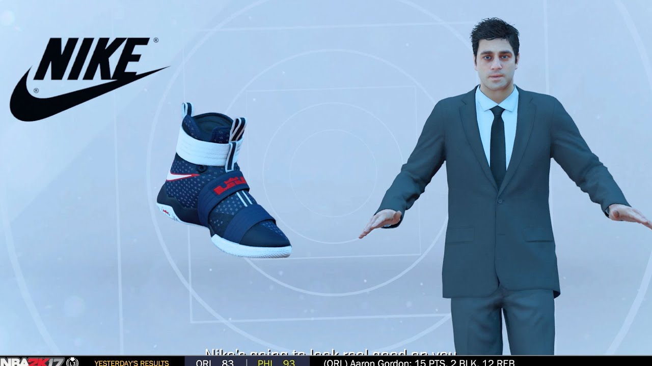 NBA 2k17 MyCAREER - Signature Shoe Deal! Jordan Nike Under Armour or Adidas?  Ep. 15 - YouTube