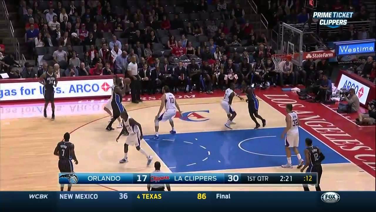 Kyle O Quinn Highlights 12 03 2014 Magic Vs Clippers