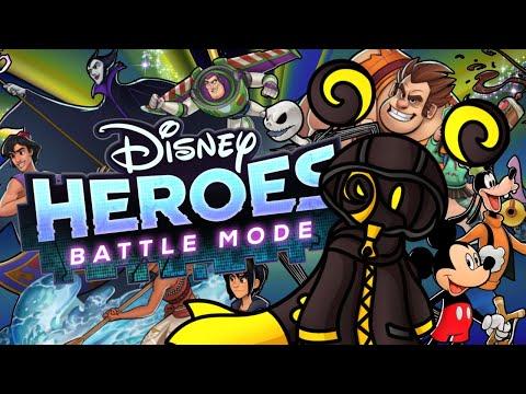 DISNEY HEROES... ASSEMBLE!!! | Disney Heroes: Battle Mode