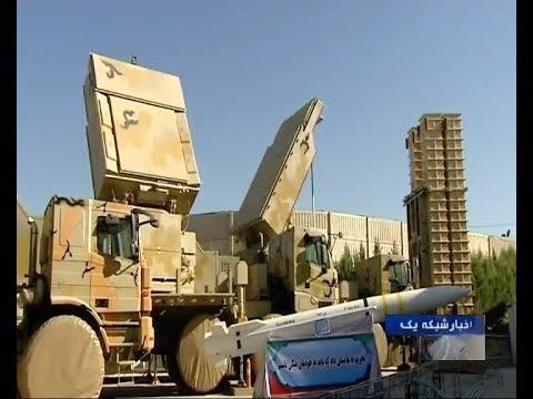 Iran made Bavar 373 mobile air defense system Sayyad 4 missile 200Km range  65Km altitude پدافند باور