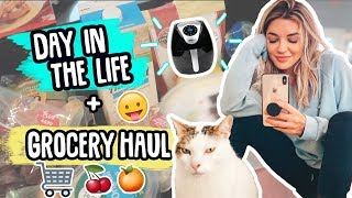 GROCERY HAUL & AIR FRYER MAGIC?? | Day In the Life Vlog!