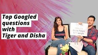 Tiger Shroff And Disha Patani Answer Top Googled Questions