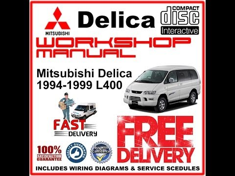 Delica L400 workshop Manual 1994 1999 YouTube