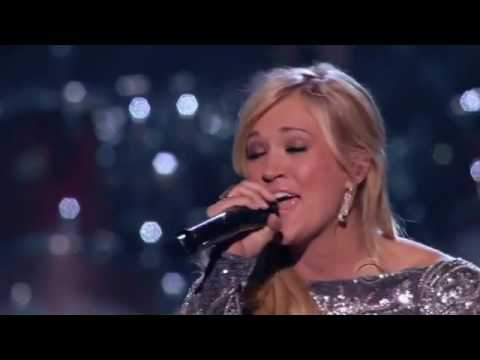Carrie Underwood How Great Thou Art Vince Gill On Abcs Girls Night Out Special