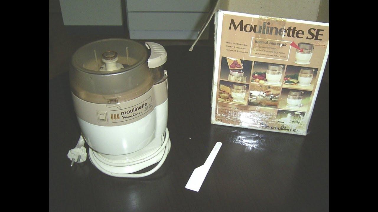Test funktionstest moulinex moulinette se zerkleinerer for Moulinette cuisine