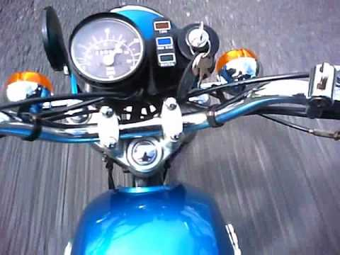 Suzuki a100 ride (top speed 67mph)