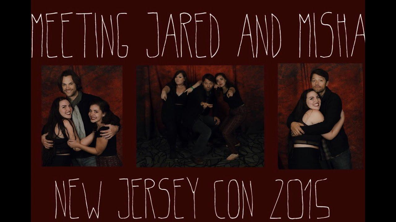 Meeting Jared Padalecki And Misha Collins Supernatural Nj Con 2015