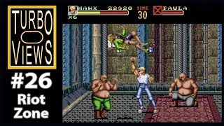 'Riot Zone'  -  Turbo Views #26 (TurboGrafx-16 / Duo / Wii game REVIEW!)