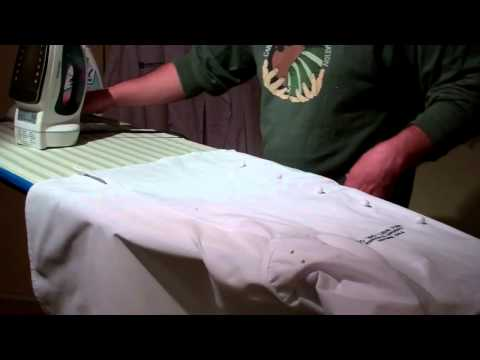 How To Iron Your Chef Coat