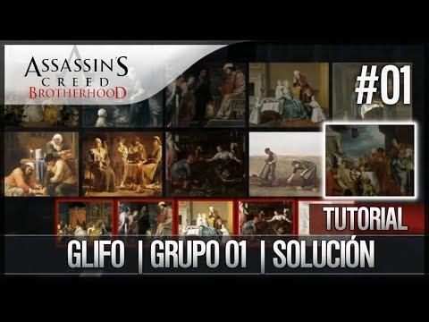 Assassin's Creed Brotherhood | Walkthrough Español | Glifo | Grupo 1 | Solución