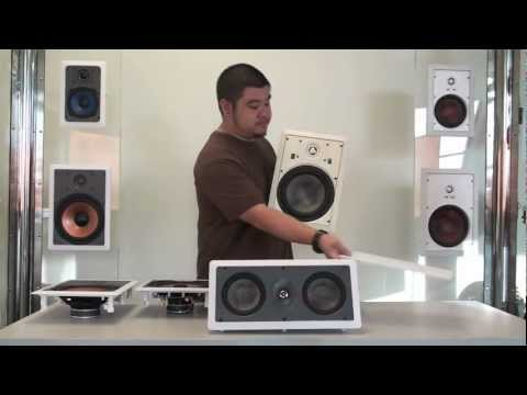 Osd Audio In Wall Speakers Youtube