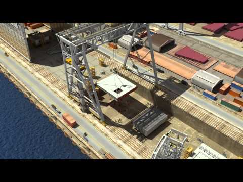 EPG Shipyard in Gdynia - 2 - promotional video made by a team of i3D