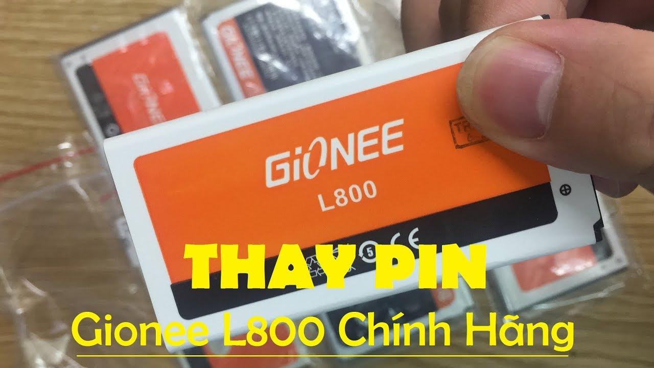Pin Gionee L800, Pin Điện Thoại Gionee L800 Chính Hãng Gía Tốt Liên Hệ 02466750999