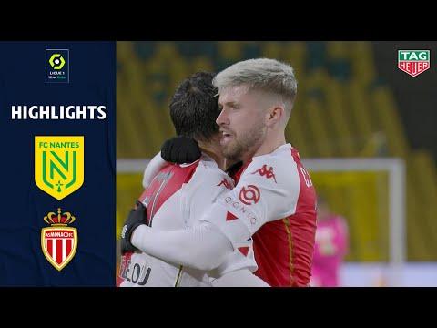 Nantes Monaco Goals And Highlights