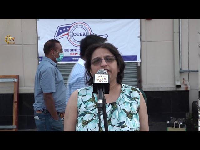 Oak Tree Business Association Honors Mahesh Bhagia on Chairmanship - Edison Democrat Organization