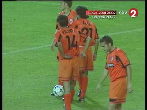 Malaga vs Valencia 2001 2002, VALENCIA CF Campeón de Liga / Emisión de Canal 9