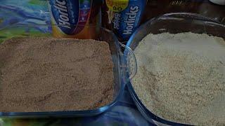 দুই ফ্লেভারের হরলিক্স রেসিপি/চকলেট এবং ক্লাসিক হরলিক্স রেসিপি/Horlicks Recipe/Protein Powder Recipe