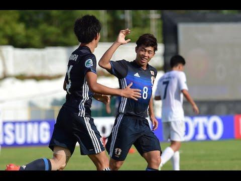 Kyrgyzstan vs Japan (AFC U-16 Championship 2016: Group Stage)