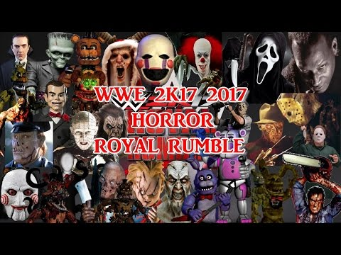 WWE 2K17 Epic Horror Royal Rumble 2017 Match