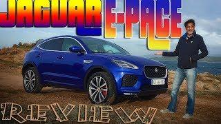 Jaguar E-Pace review - sporty little Jag crossover!