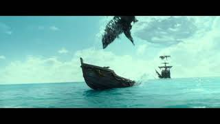 Pirates of the Caribbean: Dead Men Tell No Tales (2017) Ghost Shark Scene