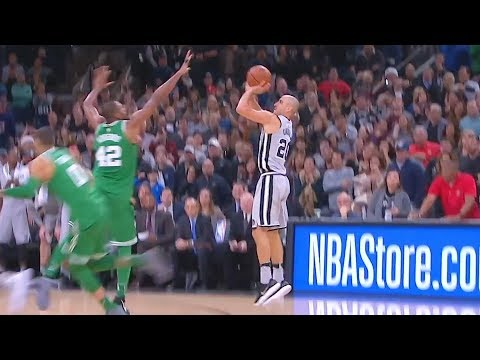 Manu Ginóbili Game Winner vs Celtics! Boston Celtics vs San Antonio Spurs