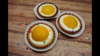 Корзиночки (тарталетки) с  кремом и абрикосом