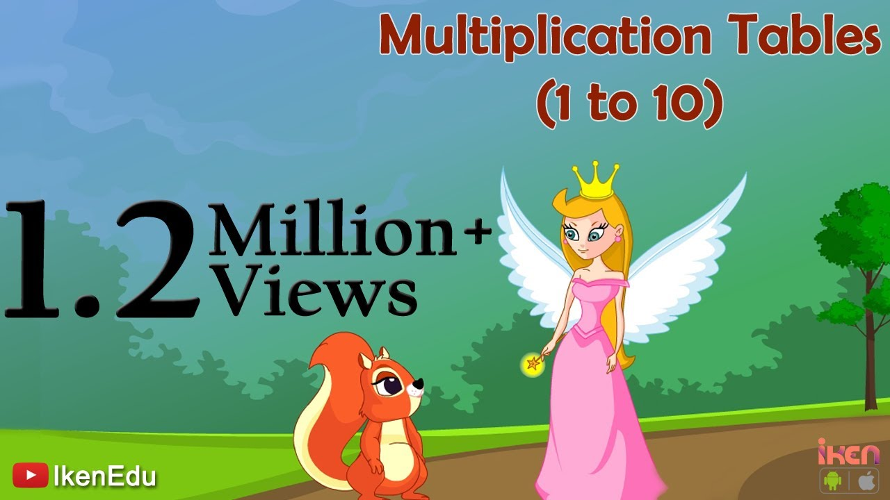 Sing Multiplication Song To Learn Multiplication Tables 1 To 10