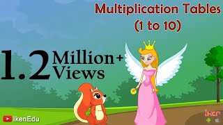 Sing Multiplication Song To Learn Multiplication Tables (1 To 10)