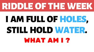 Tricky Riddles That Will Stretch Your Brain || Riddle of The Week ||