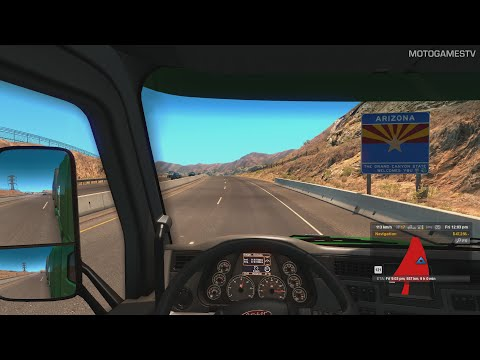 American Truck Simulator - Arizona - Las Vegas to Phoenix Gameplay