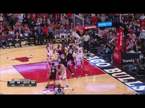 Toronto Raptors vs Chicago Bulls | January 7, 2017 | NBA 2016-17 Season