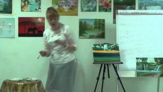 Как нарисовать пейзаж Рисуем пейзаж, Водопад, масло(, 2015-07-20T05:27:13.000Z)