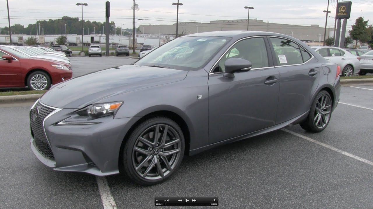 2014 lexus is350 f sport start up exhaust and in depth review youtube. Black Bedroom Furniture Sets. Home Design Ideas