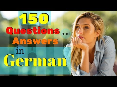 150 MOST COMMON Questions and Answers In German 🙋 How to Learn German ???🤔???