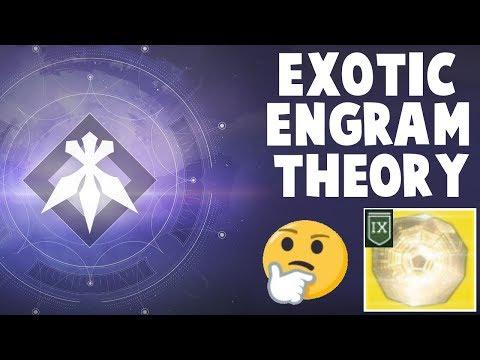 Destiny 2 - EXOTIC ENGRAM THEORY!  XUR'S FORSAKEN INVENTORY