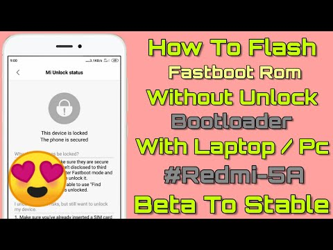 how-to-flash-fastboot-rom-on-redmi-5a-without-unlock-bootloader---redmi-5a-flashing---redmi-5a