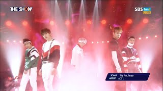 [1080p] [60fps] 160419 NCT U - The 7th Sense @ SBS MTV The Show [Debut Stage]
