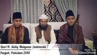 Duet H.salman amrillah djiharkah dan H.sidiq Mulyana di Pakistan