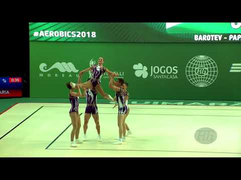 Bulgaria (BUL) - 2018 Aerobic Worlds, Guimaraes (POR) - Group Qualifications
