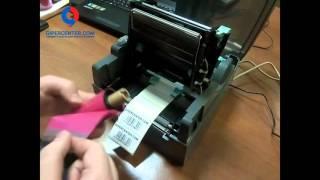 видео Термо-термотрансферный принтер  Godex G500 G530