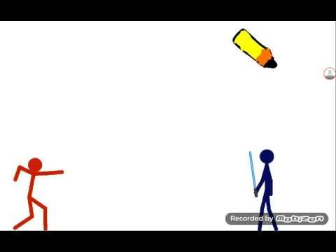 Draw Stickman Fight Youtube