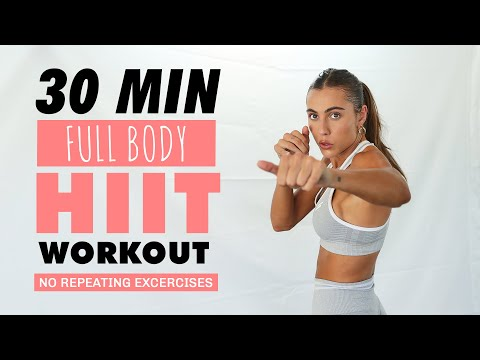 30 MIN Full Body HIIT - No Repeating Exercise // Sami Clarke #SummerBody