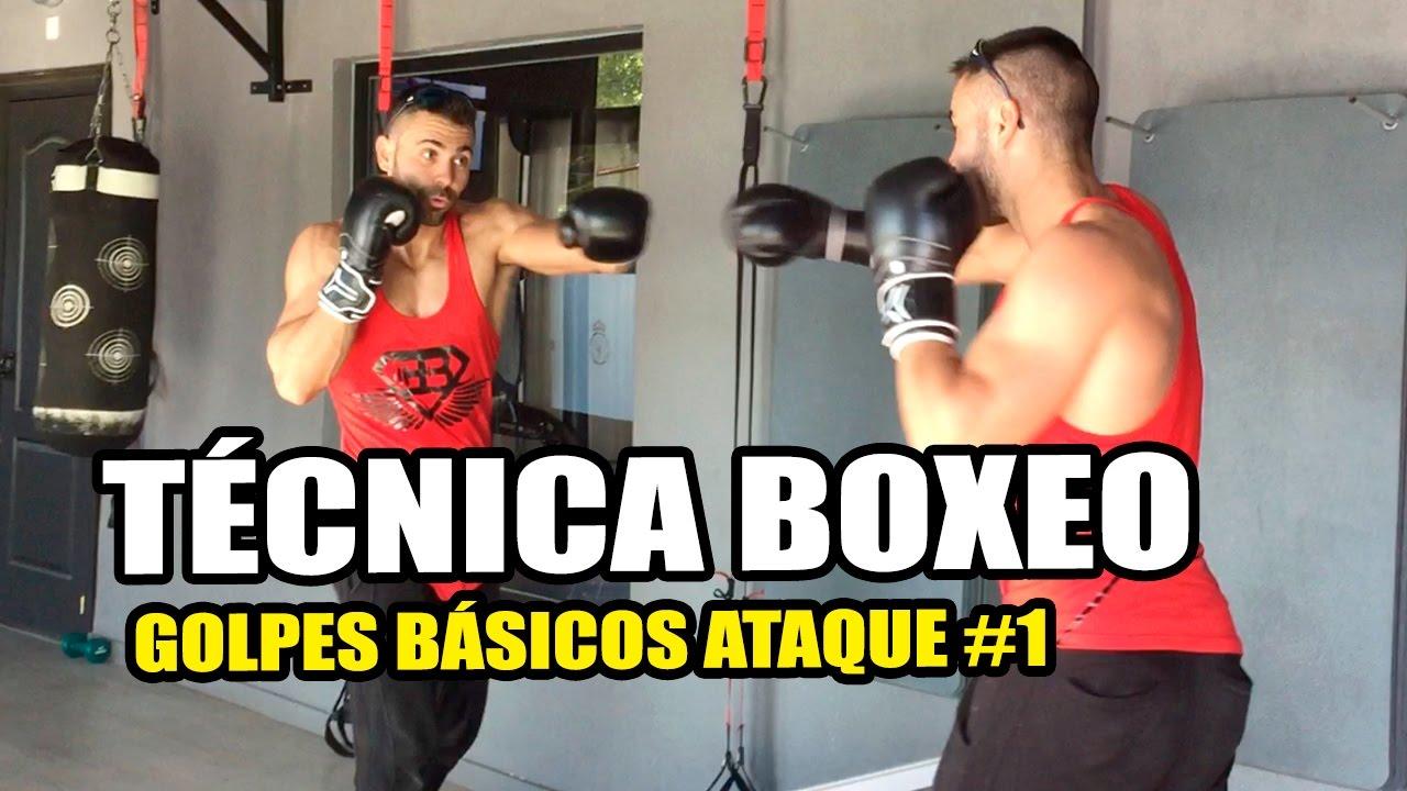 Técnica Boxeo Golpes Básicos Tutorial Youtube