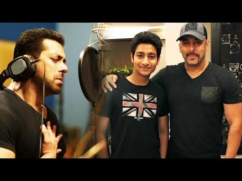 Salman Khan SINGS Marathi Song For Sairat Star Aakash Thosar's Film